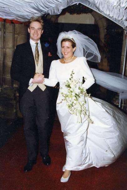 Mark Stroyan and Lady Henrietta Stroyan