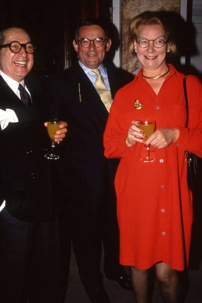 John Takesian, Colin Mackay and Mrs Colin Mackay