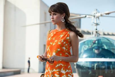 Alicia Vikander as Gaby in The Man from U.N.C.L.E.