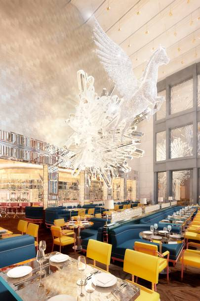 77d8b0e7b6daa The luxury restaurant group behind The Ivy is set to open its latest eatery  and bar Brasserie of Light in Selfridges this November