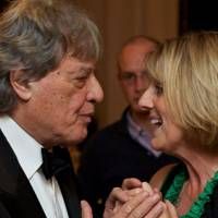 Sir Tom Stoppard and Juliet Nicolson
