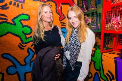 Lise Hasselgaard and Karolina Machova