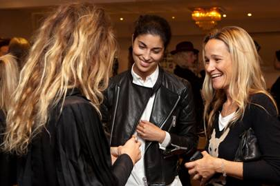 Alice Temperley, Caroline Issa and Tara Agrace