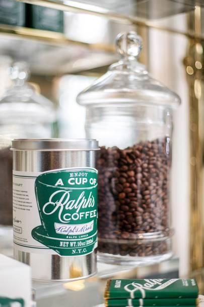 Ralph Lauren hosts pop-up coffee shop for Paris Fashion Week
