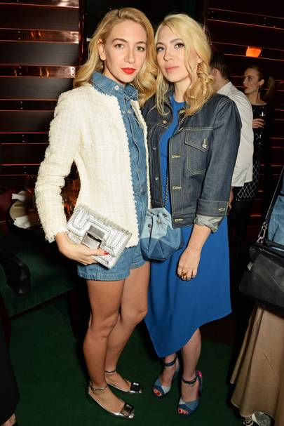 Sabine Getty and Camille Seydoux