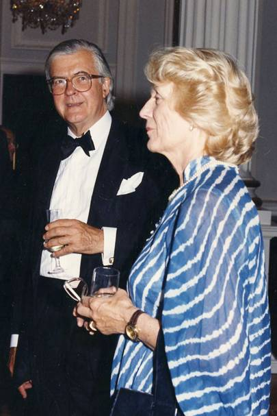 Kenneth Baker and Mrs Kenneth Baker
