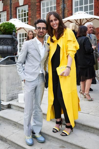 Imran Ahmed and Tania Fares