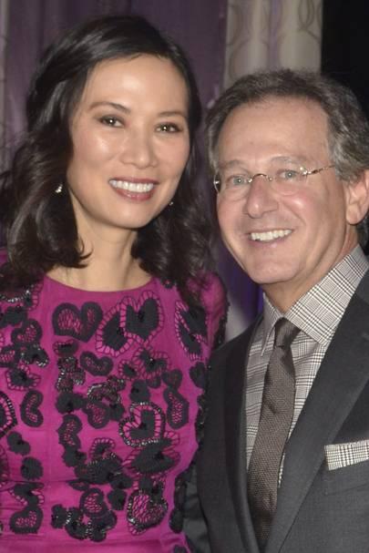 Wendi Deng and Martin Katz