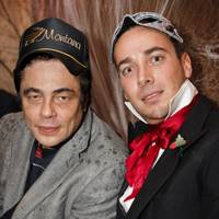 Benicio Del Toro and Tod Russell-Welply