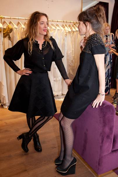 Alice Temperley and Sheherazade Goldsmith