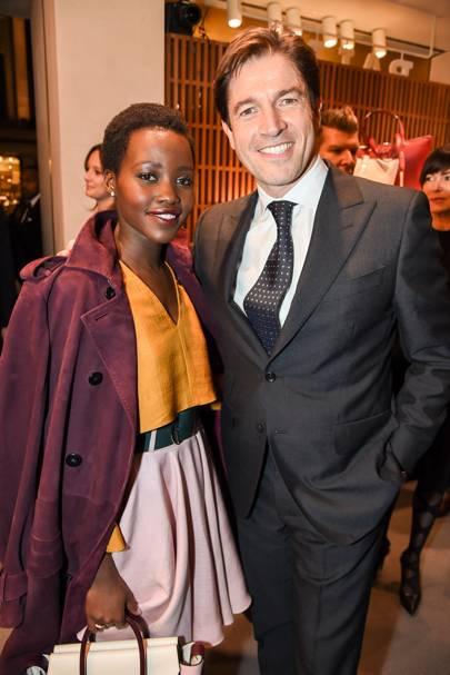 Frederic de Narp and Lupita Nyongo