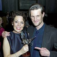 Olivia Colman and Matt Smith