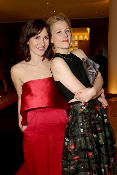 Sarah Solemani and Mamie Gummer
