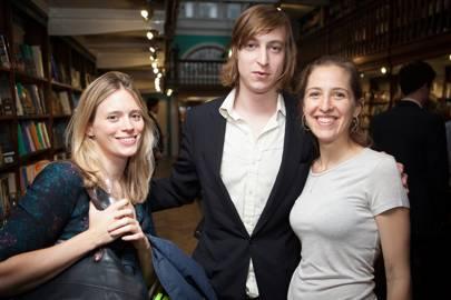Eleanor Scoones, Alexander von Preussen and Katie Waldegrave