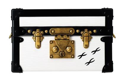 Leather clutch, £2,940, by Louis Vuitton