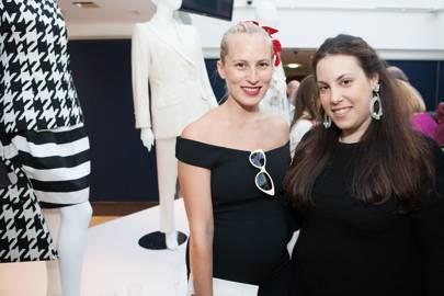 Charlotte Dellal and Mary Katrantzou