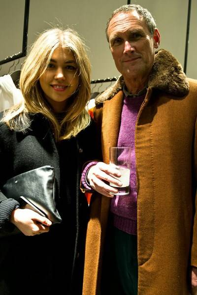 Tilly Standing and AA Gill