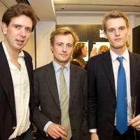 David Holland, William Tobin and David Tollemache