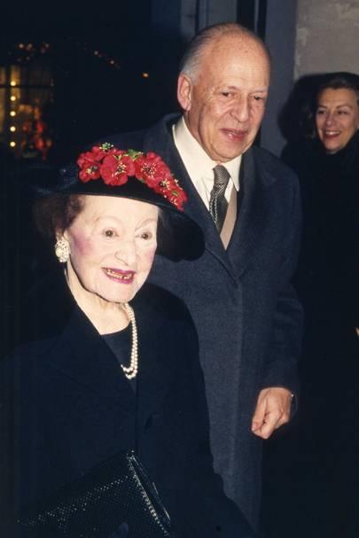 Mrs Henry Elliot-Blake and Lord Swaythling