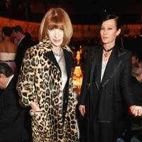 Anna Wintour and Lady Amanda Harlech