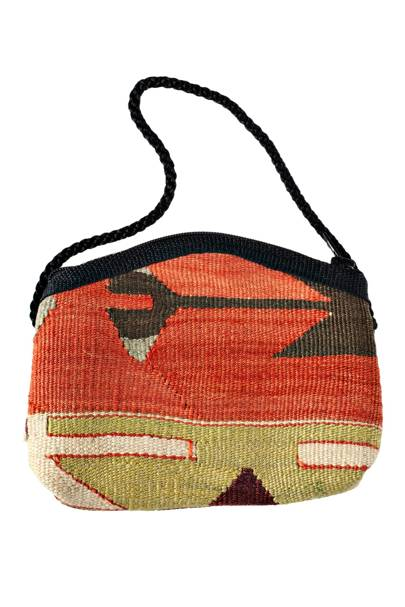 Kilim bag, £39, by Nomad Ideas