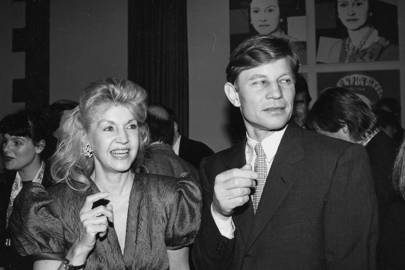 Mrs Michael York and Michael York