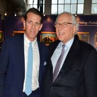 Ben Elliot and Sir Evelyn de Rothschild
