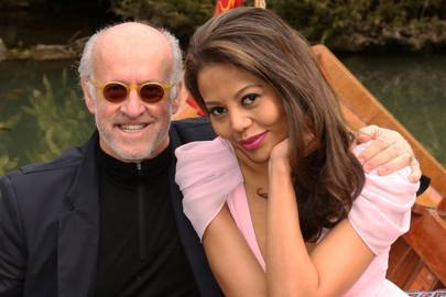 Roger Saul and Viscountess Weymouth
