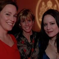 Nicola Usborne, Edie Lush and Jennifer Anna Gosetti-Ferencei