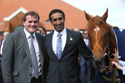 Richard Hannon and Saeed Manana