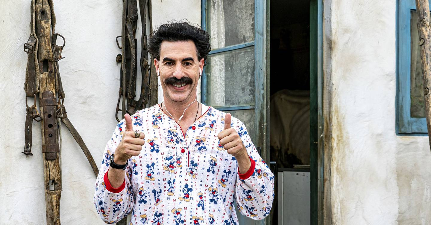 Borat Subsequent Moviefilm: Not as funny as the first