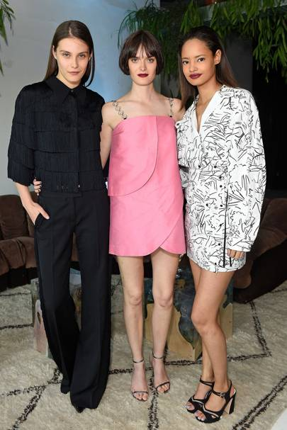 Charlotte Wiggins, Sam Rollinson and Malaika Firth