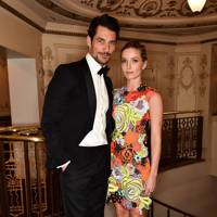 David Gandy and Annabelle Wallis