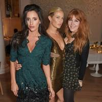 Lily Fortescue, Carolyn Murphy and Charlotte Tilbury