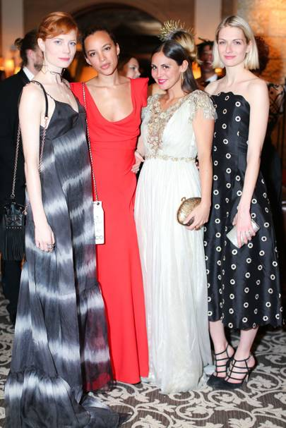 Jessica Joffe, Phoebe Collings-James, Sabine Heller and Janina Joffe