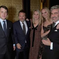 Wentworth Beaumont, Hugo Nathan, Hayley Bloomingdale, Lauren Santo Domingo and Juan Santa Cruz