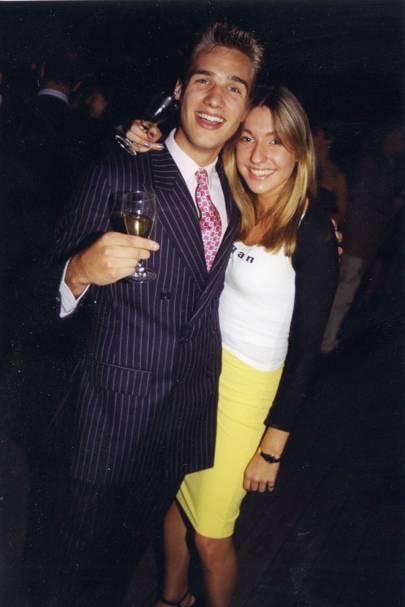 Alex Prideaux and Gemma Coles