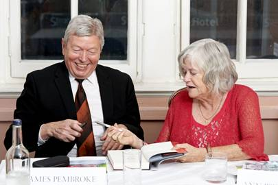 Alan Johnson and Ann Widdecombe