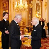 2019 - The Prince of Wales knights Ralph Lauren