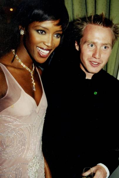 Naomi Campbell and Joe Bamford