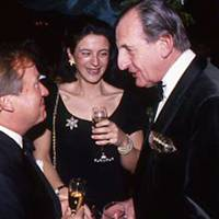 Sir Anthony Bamford, Charlotte Duncombe and Robert Cooper