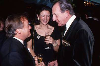 Sir Anthony Bamford, Charlotte Duncombe and Robert Cooper