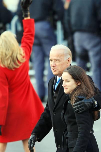 El presidente de EEUUU y su hija