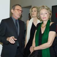 Arne Glimcher, Ondine de Rothschild and Arianne Dandois