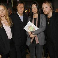 Stella McCartney, Sir Paul McCartney, Mary McCartney  and James McCartney