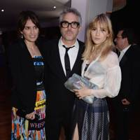 Sheherazade Goldsmith, Alfonso Cuarón and Suki Waterhouse