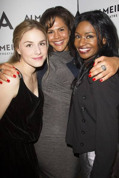 Alix Wilton Regan, Lenora Crichlow and Jenny Jules
