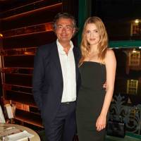 Laurent Feniou and Lily Donaldson