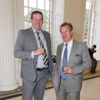 Lord Ivar Mountbatten and Tim Munton