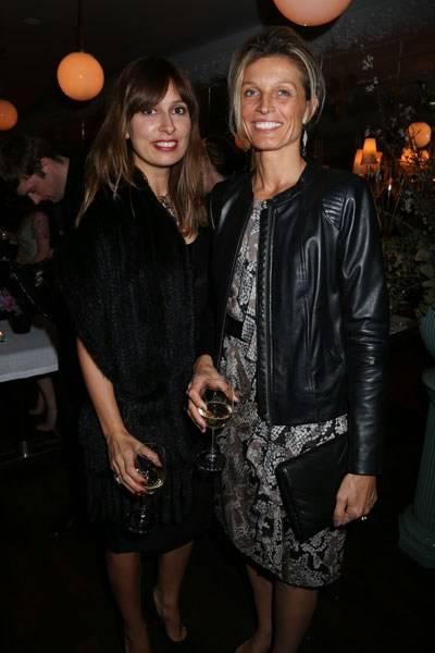 Seda Domanic and Carol Cornuau